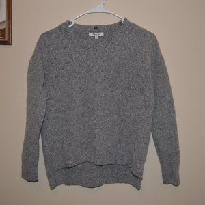 Madewell XS Pullover Sweater Lambs Wool
